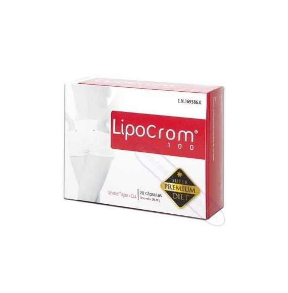 LIPOCROM 100 20 CAPS